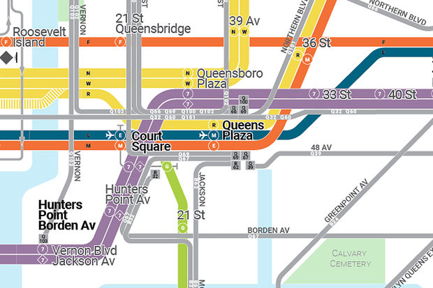 Designer Anthony Denaro is fundraising to create an app that shows both the full subway and bus map in the city.