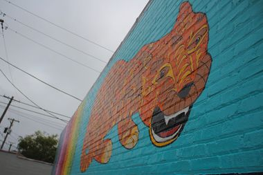 The mural was completed on Oct. 8 by artist Tony Passero.