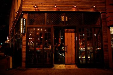 Woodland, at 242 Flatbush Ave., bills itself as a New American restaurant with locally sourced ingredients but neighbors say it functions like a club, with a private party room that can hold 150 people.