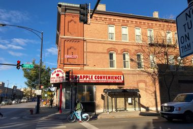 Red Apple Convenience at 2000 W. Chicago Ave.