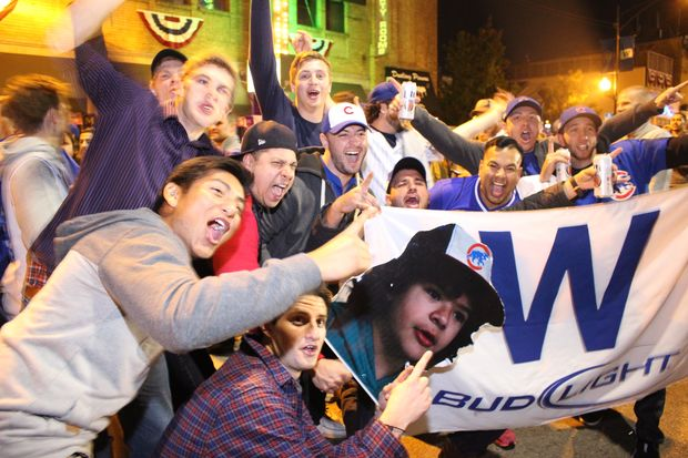 Chicago Cubs head to World Series.