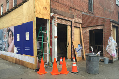 Contractors are renovating the former Rodeo Bar & Grill, which is set to open soon and is tentatively named
