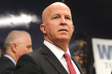 NYPD CommissionerJames O'Neill said he was in ongoing talks with the National Organization for Women, though the organization said they hadn't yet gotten word from his office.