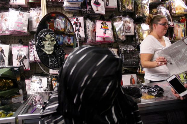 The city block-sized store boasts a million items in stock, including 20,000 wigs and hair pieces.