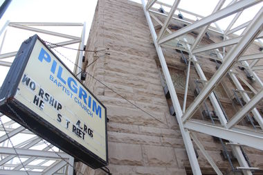 The city on Thursday denied Pilgrim Baptist Church's demolition permit application.