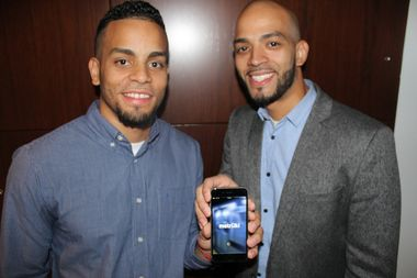 Roger and Jeff Flores said they created the app to help ease the MTA commute for all transit riders.