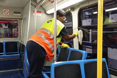 The CTA's Second Chance program, which helps people find work after being released from prison, is caught in the middle of negotiations between the CTA and unions.