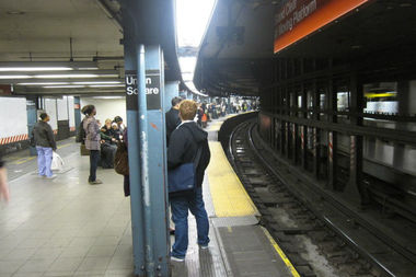 A man crushed between a platform extender and a southbound 4 train in 2010 was awarded $10 million this week.