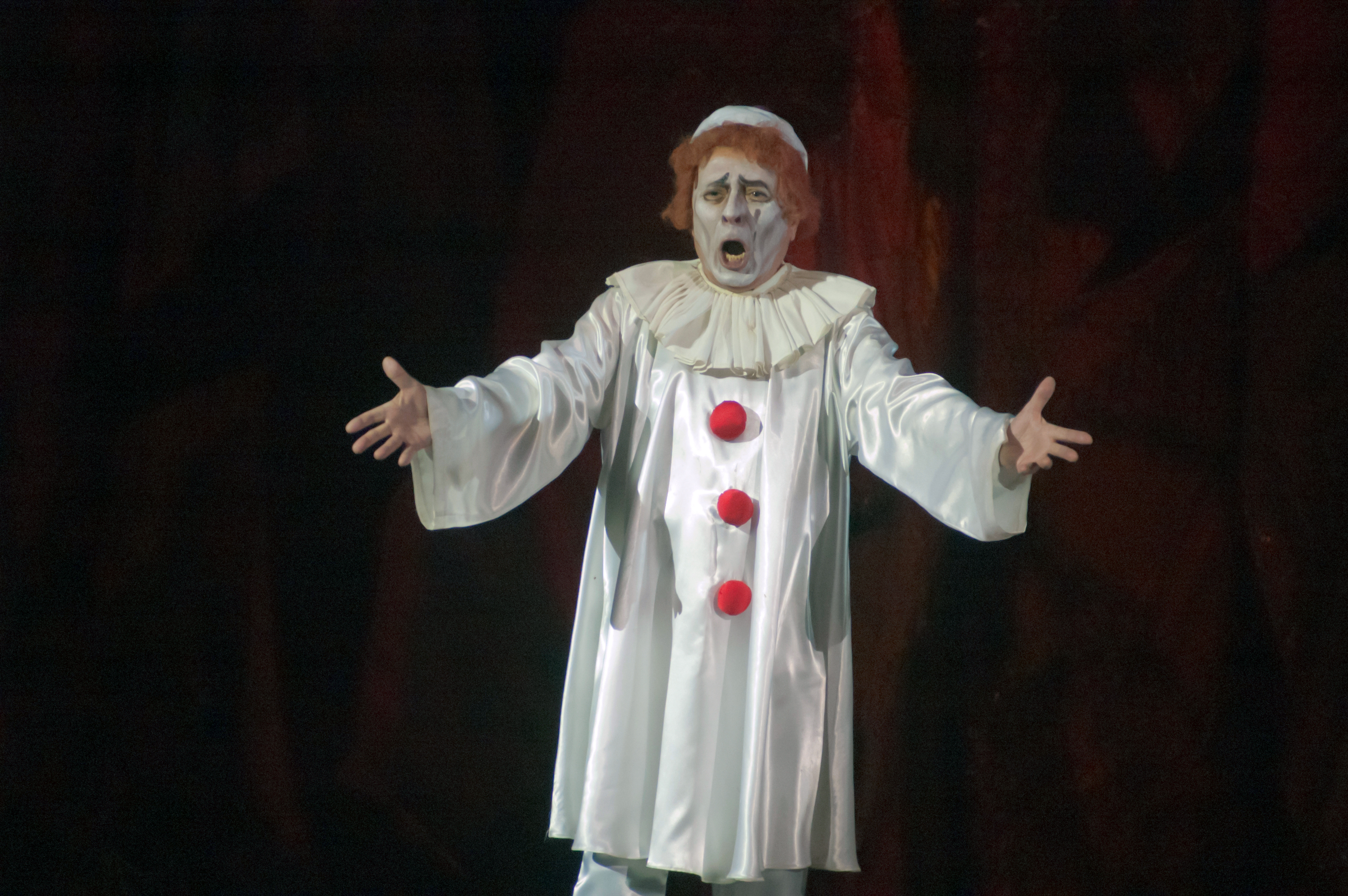 The 1892 opera Pagliacci feature a killer clown named Canjo. [Shutterstock]  sc 1 st  DNAinfo.com & No Ban On Creepy Clown Costumes In Chicago Where Sales Are Up This ...