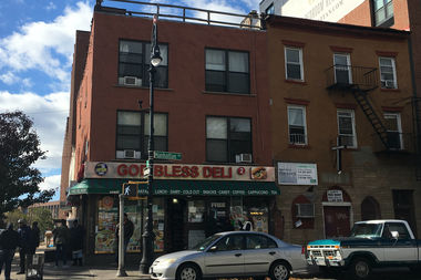 Four people have had bad reactions to heroin they bought outside of God Bless Deli this month, the shelter's manager said.