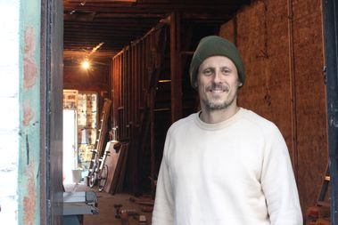 Chef Boris Ginet is renovating 701 Flatbush Ave. to create a fast-casual rotisserie restaurant, Risbo.