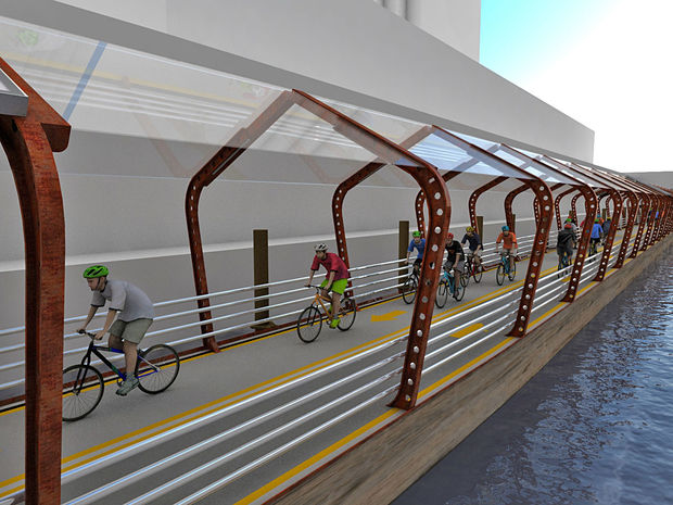 Floating Bike Trail