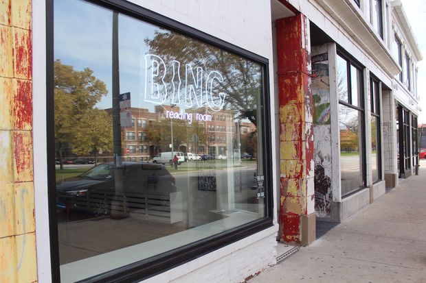 Bing art books is converting into a bar under the new name Bing Reading Room.