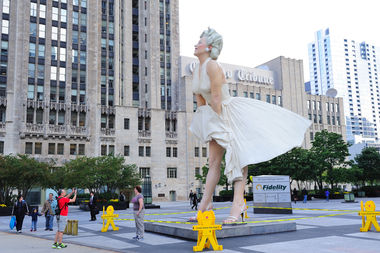 The Marilyn Monroe statue Downtown a few years ago immortalized an iconic moment, but Simeone Magee finds the whole concept ludicrous — thus, Dress Downs.
