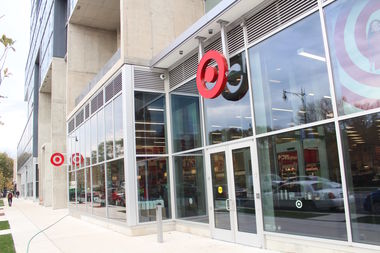 A man fired shots in a South Loop Target parking garage before fleeing in a stolen BMW on Tuesday afternoon, officials said.