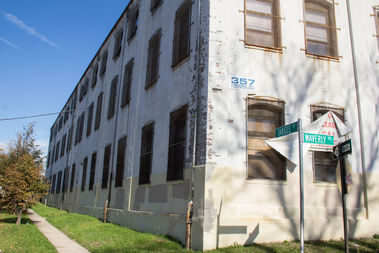 The city plans to demolish a warehouse at 357 Targee St.