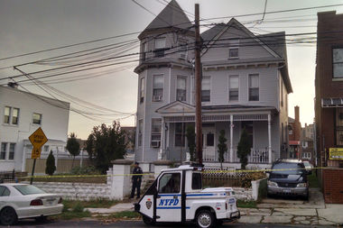 The emotionally disturbed man had threatened the sergeant with a glass bottle in 1840 Mayflower Ave., police said.