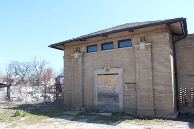 Theaster Gates' Rebuild Foundation wants to convert this old ComEd substation into a lumber mill for all of the city's dead ash trees.