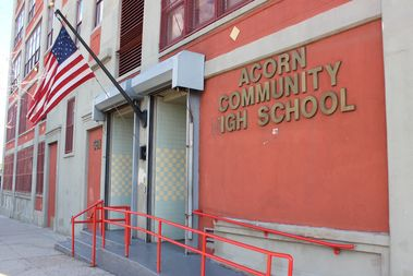 The ACORN Community High School was founded in 1996 by a group of parents affiliated with the now-defunct organizing group that gave the school its name.