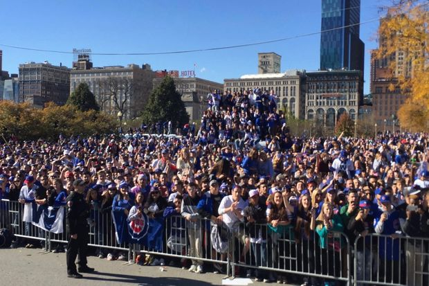 Who Is Paying For The Cubs Parade And Rally Downtown Chicago