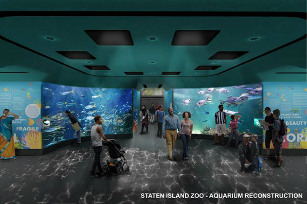 Staten Island Zoo Aquarium 39 S 8 4m Renovation To Add Huge