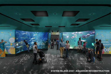 Staten Island Zoo Aquarium's $8.4M Renovation to Add Huge Tanks