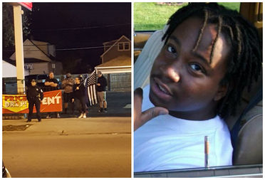 Blue Lives Matter protesters showed up near the scene of a police-involved shooting in Mt. Greenwood Saturday. Joshua Beal (pictured) was killed by an officer.