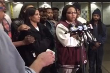 Joshua Beal's family and Black Lives Matter Chicago held a press conference Sunday night asking for help to pay for the funeral of the 25-year-old man who was fatally shot by an off-duty police officer in Mount Greenwood.