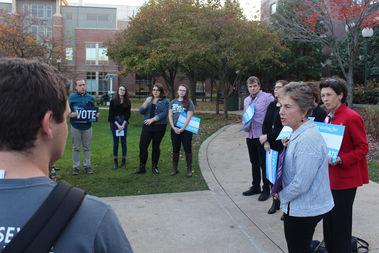 U.S. Rep. Jan Schakowsky told DePaul students that not voting