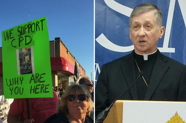 As Mount Greenwood residents prepare for a massive protest Tuesday night, Archbishop Blase J. Cupich has a message for the mostly Catholic community:racism is a sin.