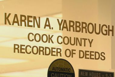 The measure was designed to save money by eliminating the Cook County Recorder of Deeds office.