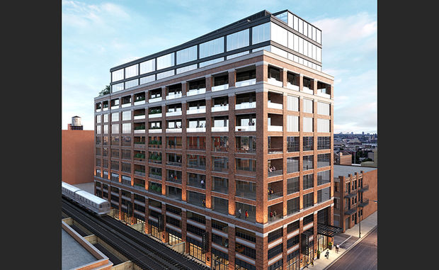 Developer Sterling Bay plans to build an office building at 210 N. Carpenter St. in the West Loop.