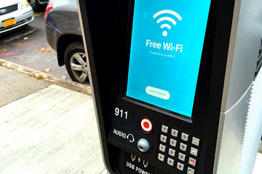 More than a million people signed up for free Wi-Fi at the city's LinkNYC kiosks, the city announced.
