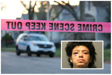 Uriel Vega, 22, is charged with murder.
