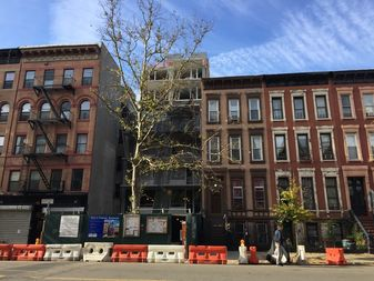 Homes located on Pleasant Avenue in East Harlem.