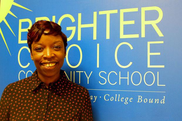 Principal Fabayo McIntosh-Gordon of Brighter Choice Community School says the school