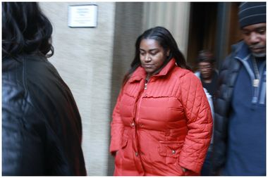 Shacara McLaurin, 23, assaulted the man about a block away from Trump Tower, police said.