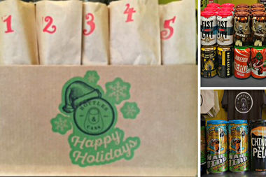 Bottles and Cans, 4109 N. Lincoln Ave., is once again offering its decidedly adult take on the advent calendar — a beer a day until December 25th.