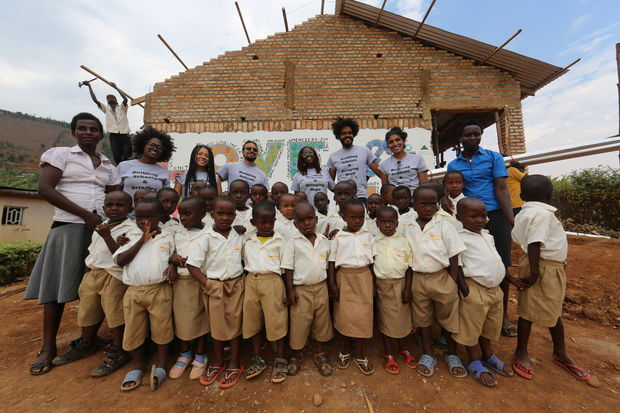 The Chicago-based 'A Building Hope Project' is building a school in Rwesero, Rwanda.