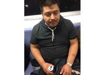 This man groped a woman on the 7 train, according to a police report.