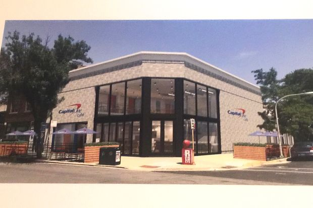 Capital One Cafe began renovations last month at 3435 N. Southport Ave., where it plans to open a two-story cafe in mid-2017.