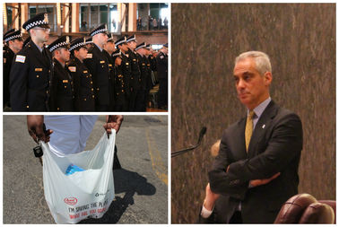 Mayor Rahm Emanuel's 2017 is was approved Wednesday.