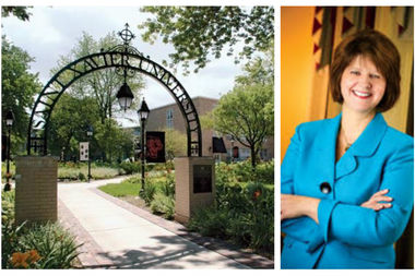 Laurie M. Joyner as been appointed the president of Saint Xavier University in Mount Greenwood, replacing outgoing president Christine Wiseman as of Jan. 1.