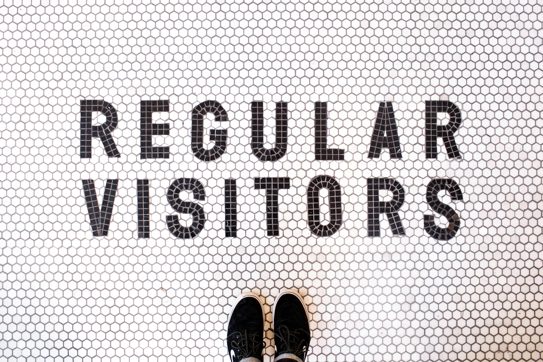 regular visitors