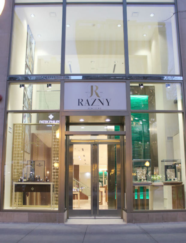 On Nov. 1, Razny Jewelers opened up a fourth location, the first in city of Chicago. The new store, located at 109 E. Oak St., currently features Rolex and Patek Philippe watches and will offer couture jewelry and timepiece and jewelry servicing.