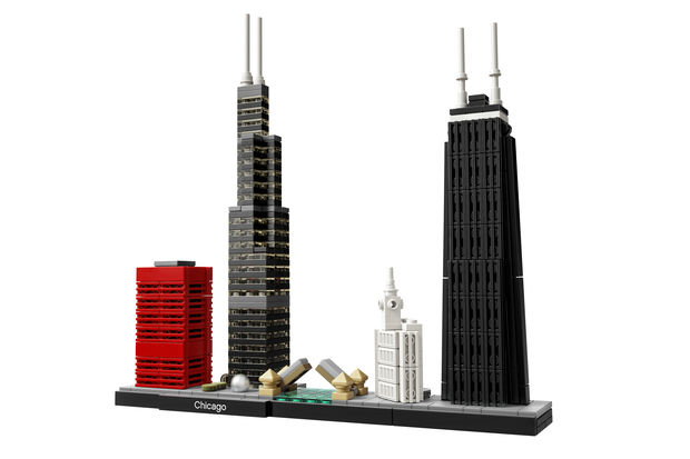 Willis Tower, John Hancock Center, and the Wrigley Building are among the Chicago landmarks you can build yourself thanks to a new Lego set.