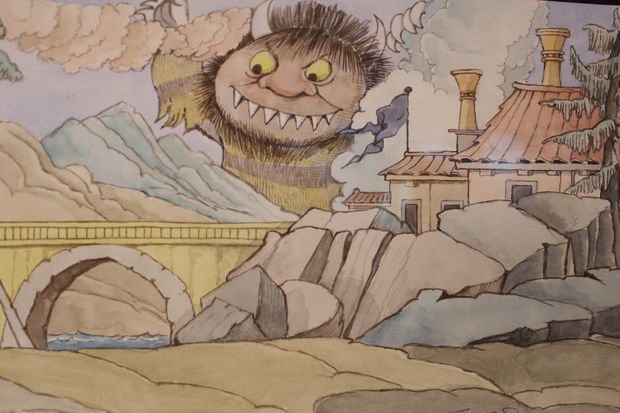 The Museum of Science and Industry on Thursday opened a new exhibit of original art by children's author and illustrator Maurice Sendak.