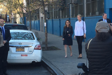 Ivanka Trump visited Harlem's Success Academy with Eva Moskowitz Friday.