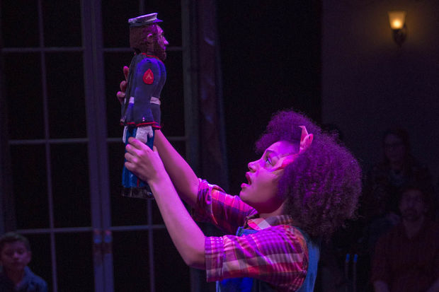 "Ariana Burks, 17, is making her debut in The House Theatre of Chicago's ""The Nutcracker."""
