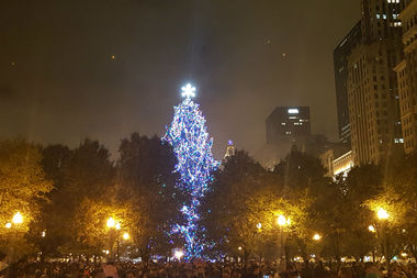 Annual Christmas Tree Lighting Ceremony Illuminates Downtown ...